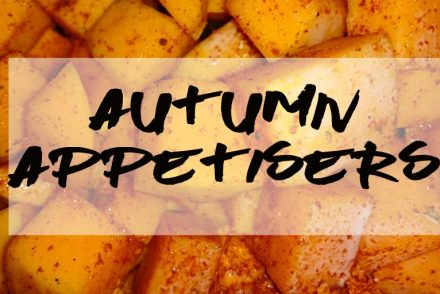 autumn appetisers