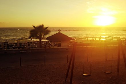 tenerife sunset