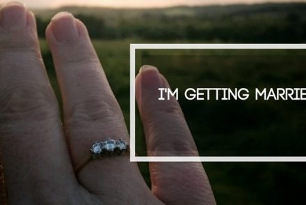 I'm getting married